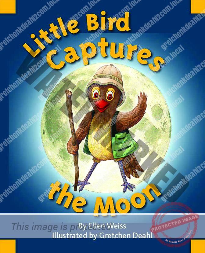 Little Bird Captures the Moon